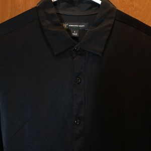 INC International Concepts Shirts - INC Silky Black Button Down